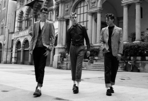 Teddy boys streetstyle